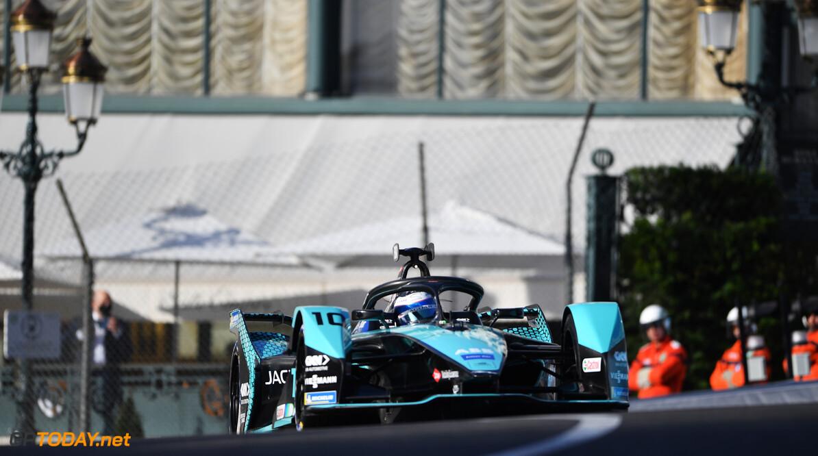 Sam Bird (GBR), Jaguar Racing, Jaguar I-TYPE 5  Simon Galloway Monte Carlo Monaco  action TS-Live Saturday Jaguar