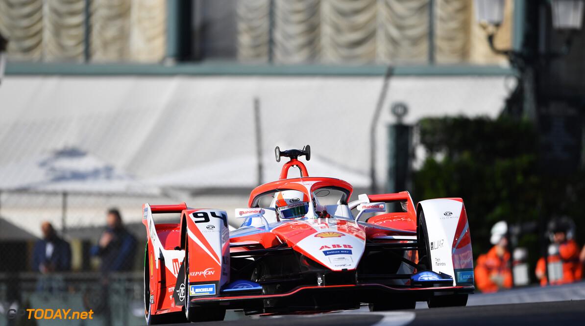 Alex Lynn (GBR), Mahindra Racing, M7Electro  Simon Galloway Monte Carlo Monaco  action TS-Live Saturday Mahindra