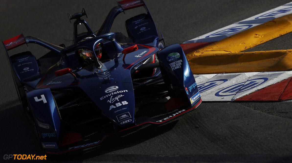 Robin Frijns (NLD), Envision Virgin Racing, Audi e-tron FE07  Andy Hone Monte Carlo Monaco  action TS-Live Saturday Envision