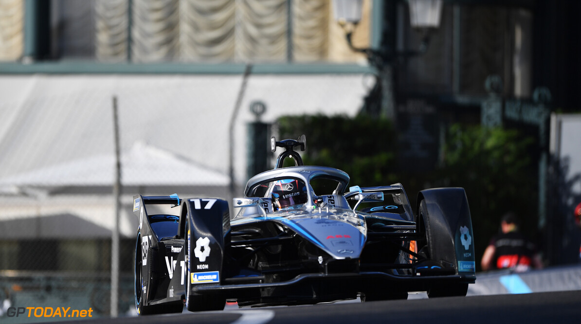 Nyck de Vries (NLD), Mercedes Benz EQ, EQ Silver Arrow 02  Simon Galloway Monte Carlo Monaco  action TS-Live Saturday Mercedes