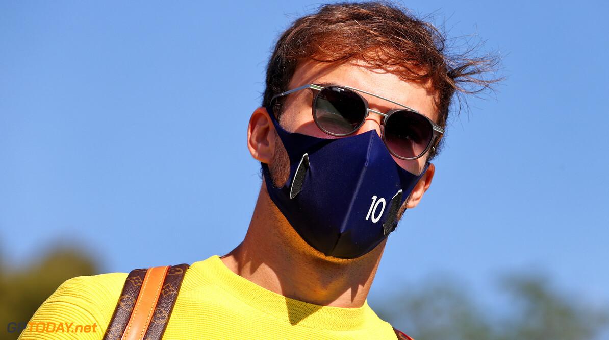 Pierre Gasly kan een terugkeer in de Red Bull naast Max Verstappen wel vergeten