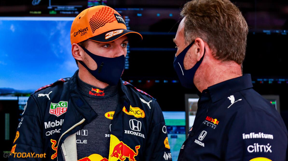 """Horner trots: """"Max verdient het om aan de leiding van het kampioenschap te staan"""""""