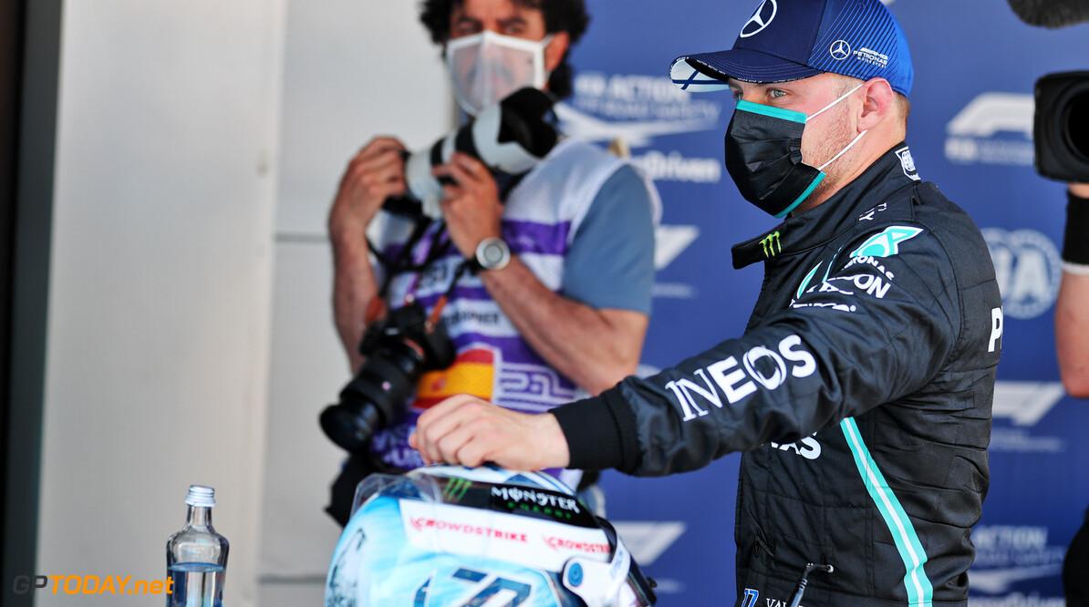 """Bottas na eenzame derde plek GP Spanje: """"Vandaag ging het om kleine details"""""""