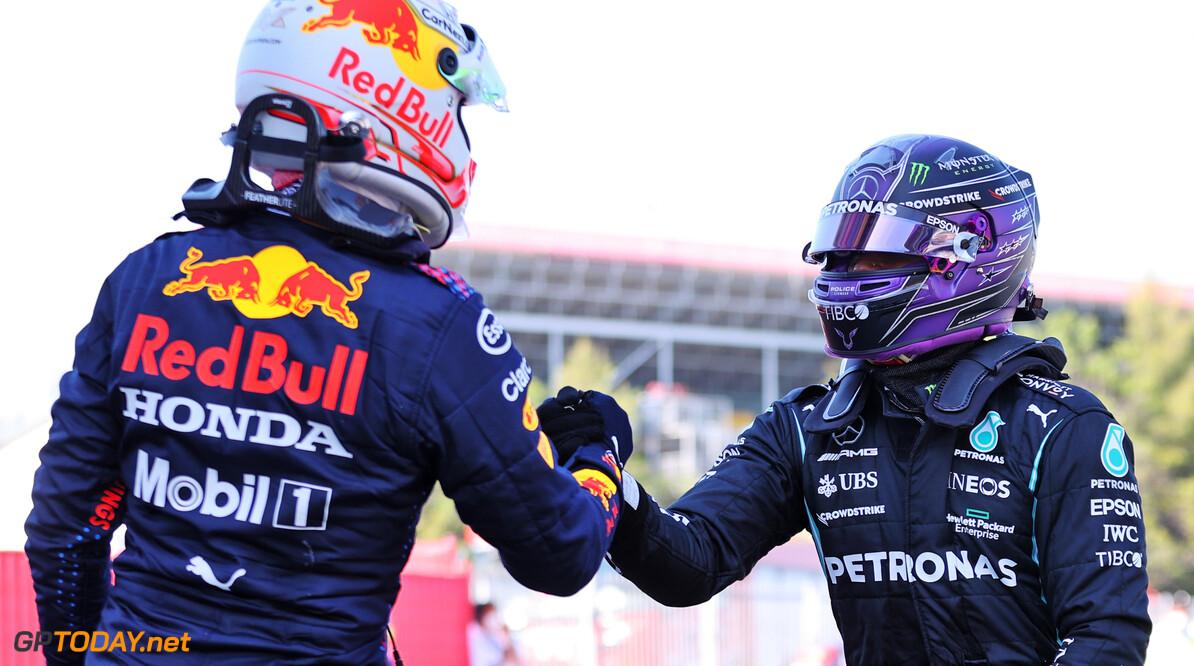 <b>Video: </b>Max Verstappen versus Lewis Hamilton: De wiel-aan-wiel gevechten tot nu toe