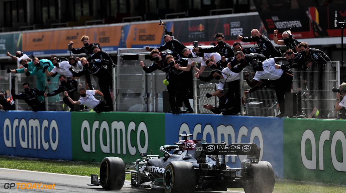 De beste foto's van de Grand Prix van Spanje 2021