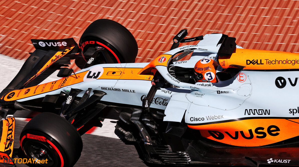 Prachtige Gulf-livery verdwijnt van de McLaren
