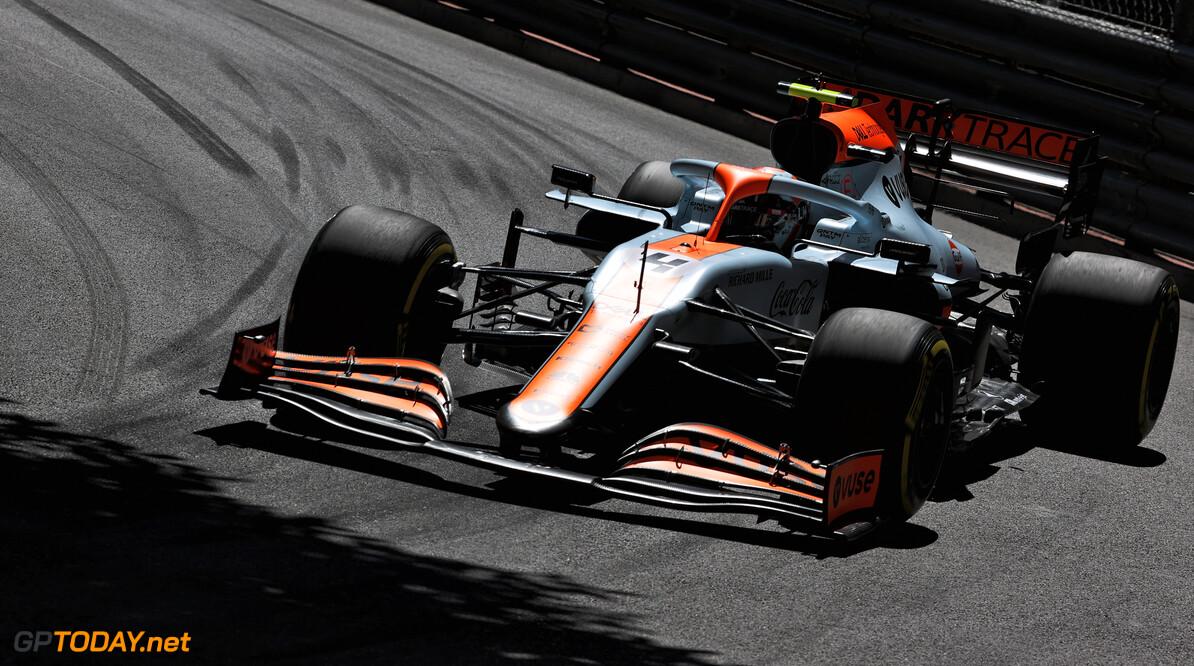 """Norris: """"Vorige week al gezegd tegen Sainz dat hij in Monaco kan winnen"""""""