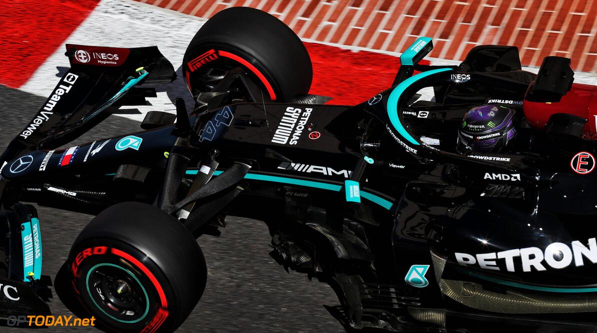"""Hamilton na P7 kwalificatie: """"Rampzalig weekend - ik hoop op een regenrace"""""""