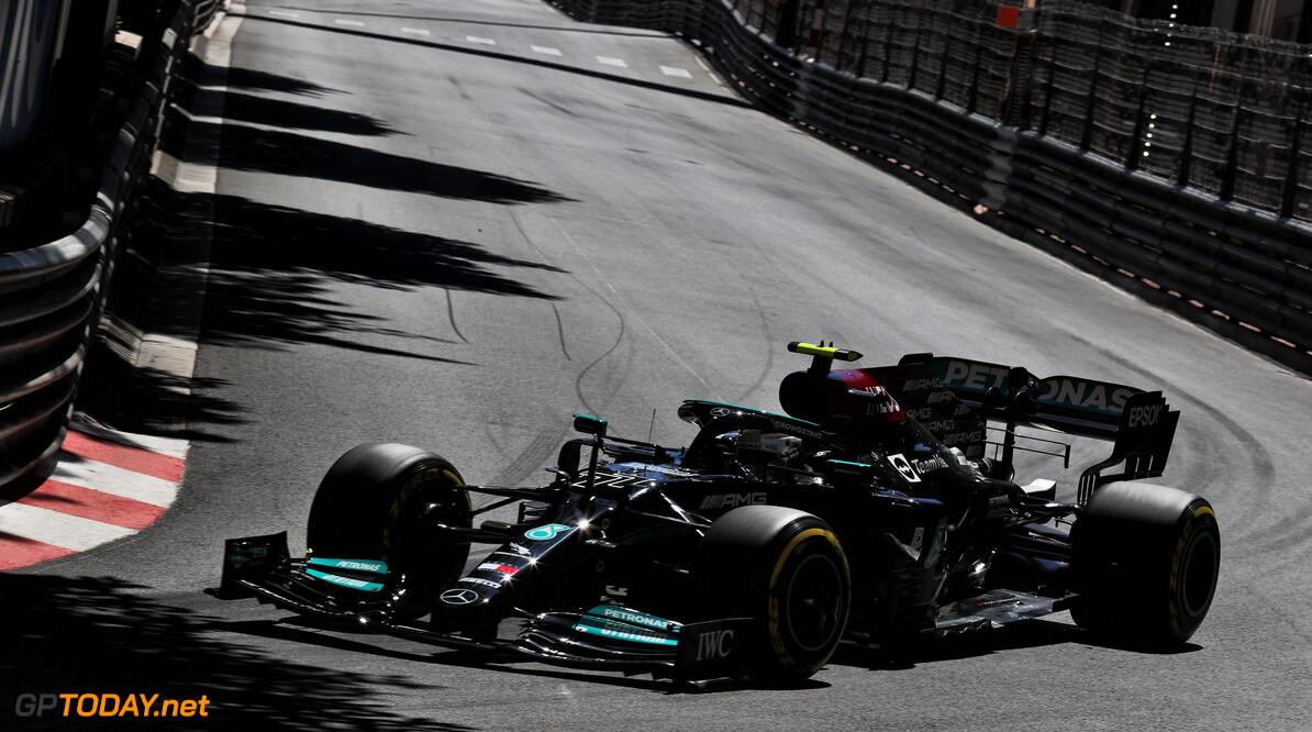 """Bottas na derde plek kwalificatie GP Monaco: """"We hadden kans gemaakt op pole position"""""""