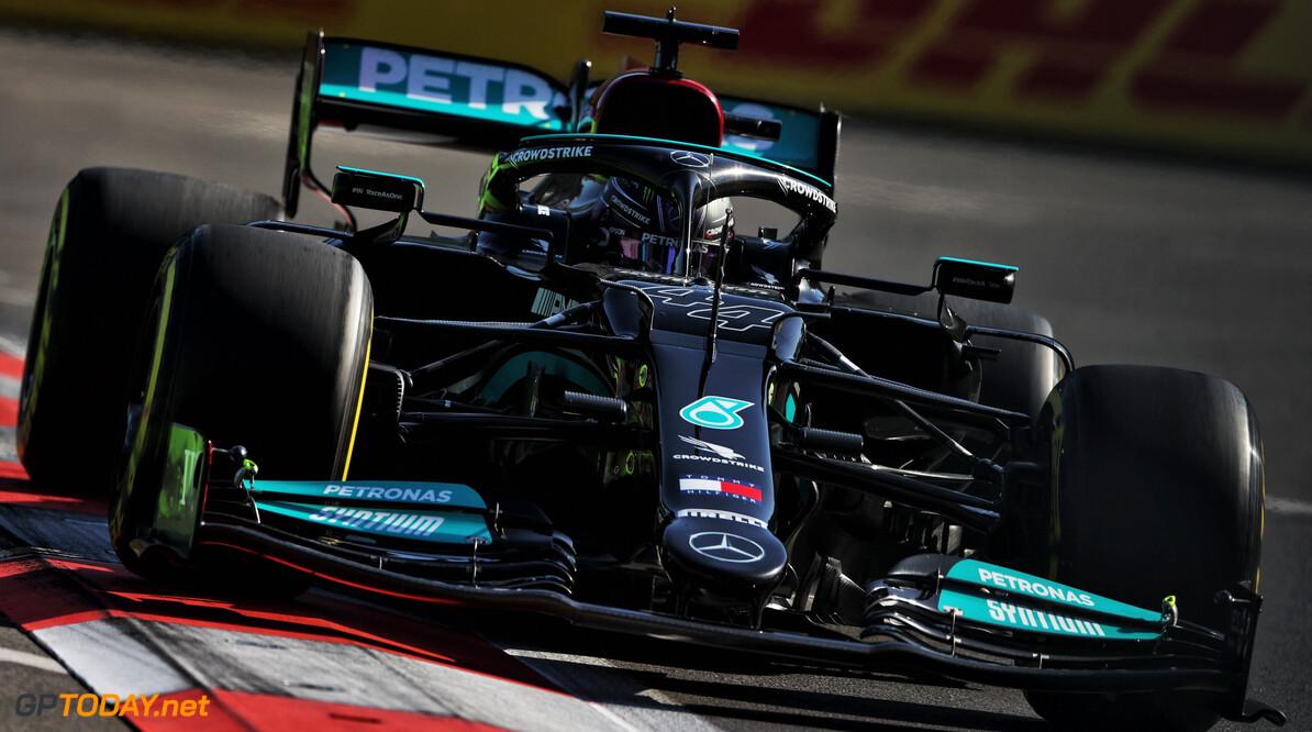 """Lewis Hamilton komt niet verder dan elfde tijd: """"Het voelde goed"""""""