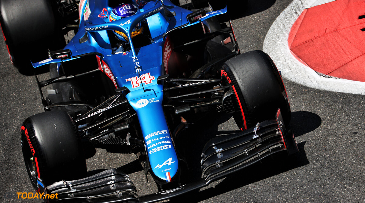 """Fernando Alonso zorgt voor opsteker Alpine: """"We waren de laatste twee rondes snel"""""""