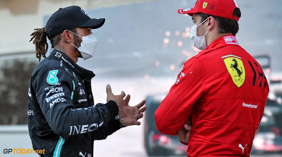 """Hamilton over concurrent: """"Ongelofelijk dat ik nooit Ferrari-coureur ben geweest"""""""