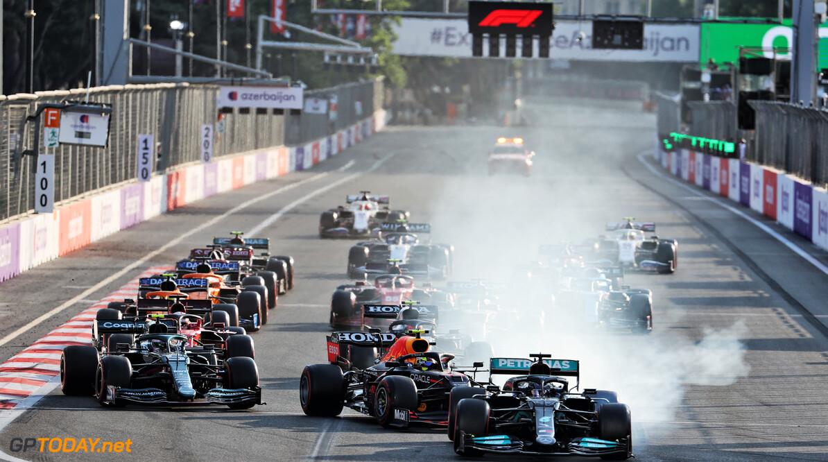 """F1 ontkent dat herstart GP van Azerbeidzjan in Bakoe """"puur voor de show"""" was"""