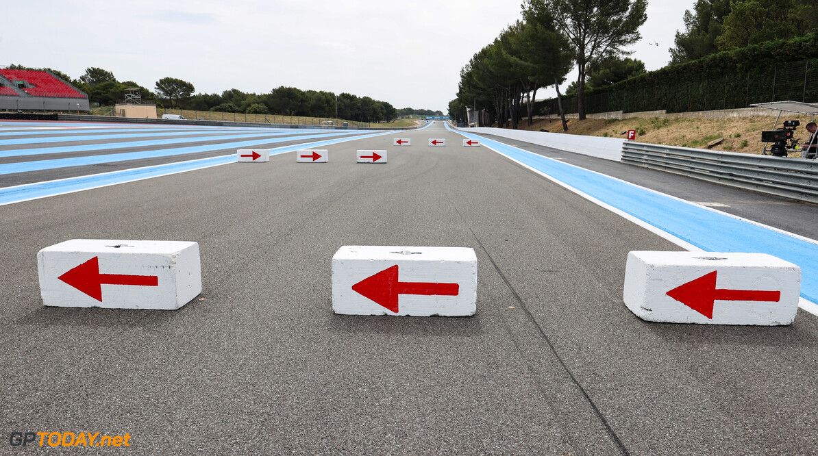 Formula One World Championship Run off area at the chicane on the Mistral straight. 17.06.2021. Formula 1 World Championship, Rd 7, French Grand Prix, Paul Ricard, France, Preparation Day. - www.xpbimages.com, EMail: requests@xpbimages.com (C) Copyright: Charniaux / XPB Images Motor Racing - Formula One World Championship - French Grand Prix - Preparation Day - Paul Ricard, France XPB Images Le Castellet France  Formel1 Formel F1 Formula 1 Formula1 GP Grand Prix one Thursday June France French Circuit Paul Ricard Le Castellet 17 06 6 2021