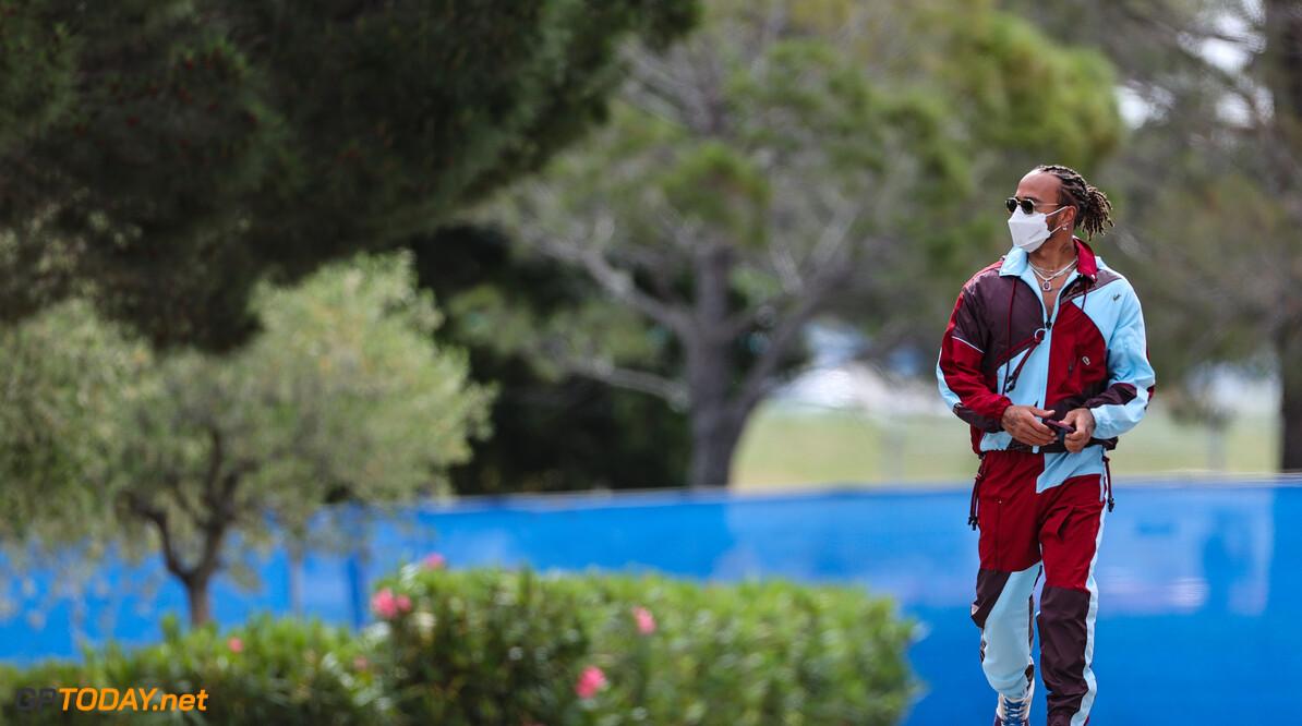 Formula One World Championship Lewis Hamilton (GBR), Mercedes AMG F1   19.06.2021. Formula 1 World Championship, Rd 7, French Grand Prix, Paul Ricard, France, Qualifying Day. - www.xpbimages.com, EMail: requests@xpbimages.com (C) Copyright: Charniaux / XPB Images Motor Racing - Formula One World Championship - French Grand Prix - Qualifying Day - Paul Ricard, France XPB Images Le Castellet France  Formel1 Formel F1 Formula 1 Formula1 GP Grand Prix one Saturday June 19 06 6 2021 France French Circuit Le Castellet Practice Action Track