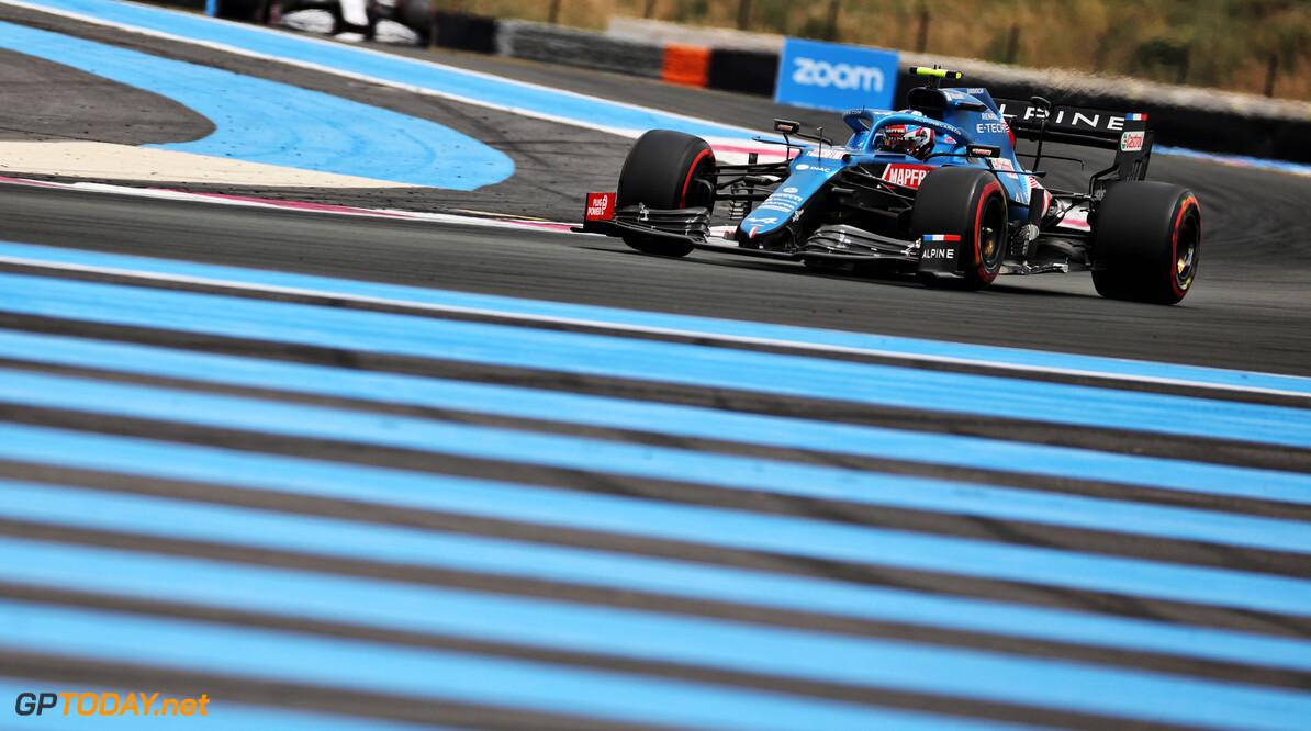 <b>Video: </b>Aan boord bij Esteban Ocon die een ronde over het Circuit Paul Ricard becommentarieert