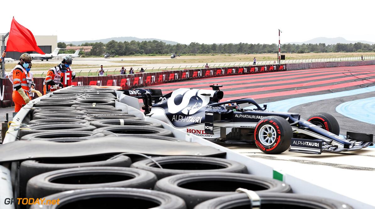 Tsunoda bekent schuld na derde kwalificatie crash in zeven races