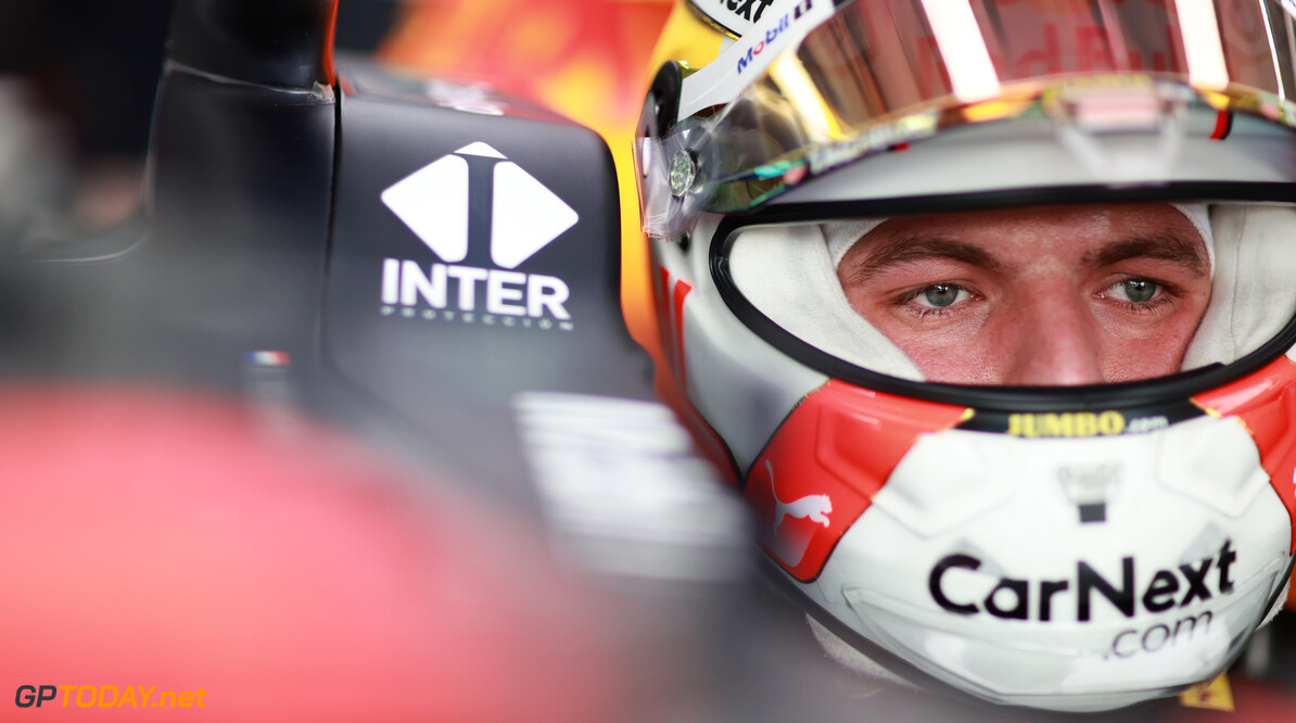 LE CASTELLET, FRANCE - JUNE 19: Max Verstappen of Netherlands and Red Bull Racing prepares to drive in the garage during qualifying ahead of the F1 Grand Prix of France at Circuit Paul Ricard on June 19, 2021 in Le Castellet, France. (Photo by Mark Thompson/Getty Images) // Getty Images / Red Bull Content Pool  // SI202106190231 // Usage for editorial use only //  F1 Grand Prix of France - Qualifying     SI202106190231
