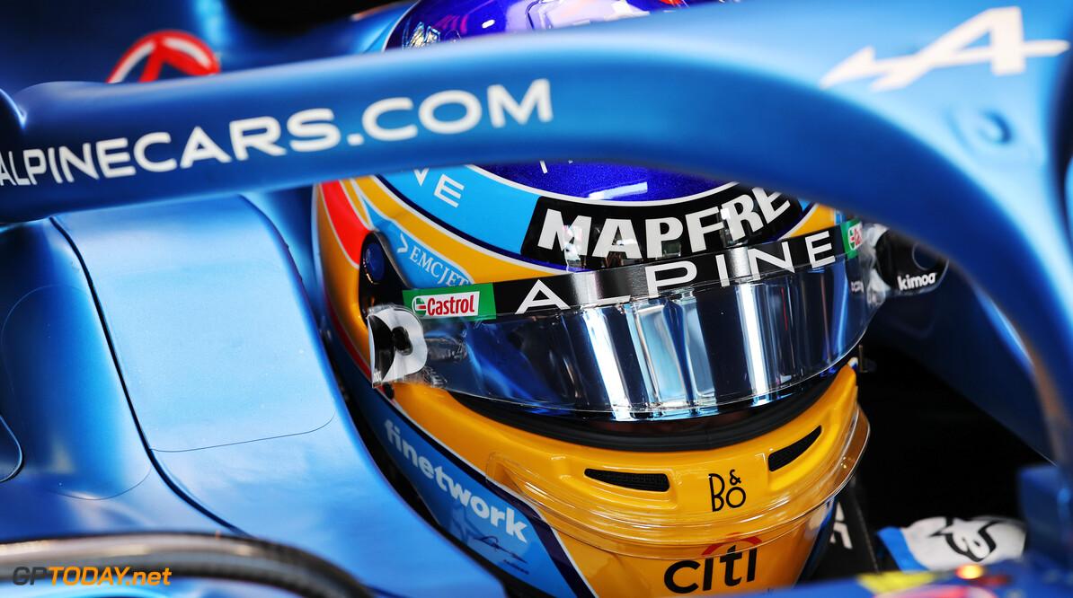 """Alonso superblij: """"Wij verwachten regen tijdens de race"""""""