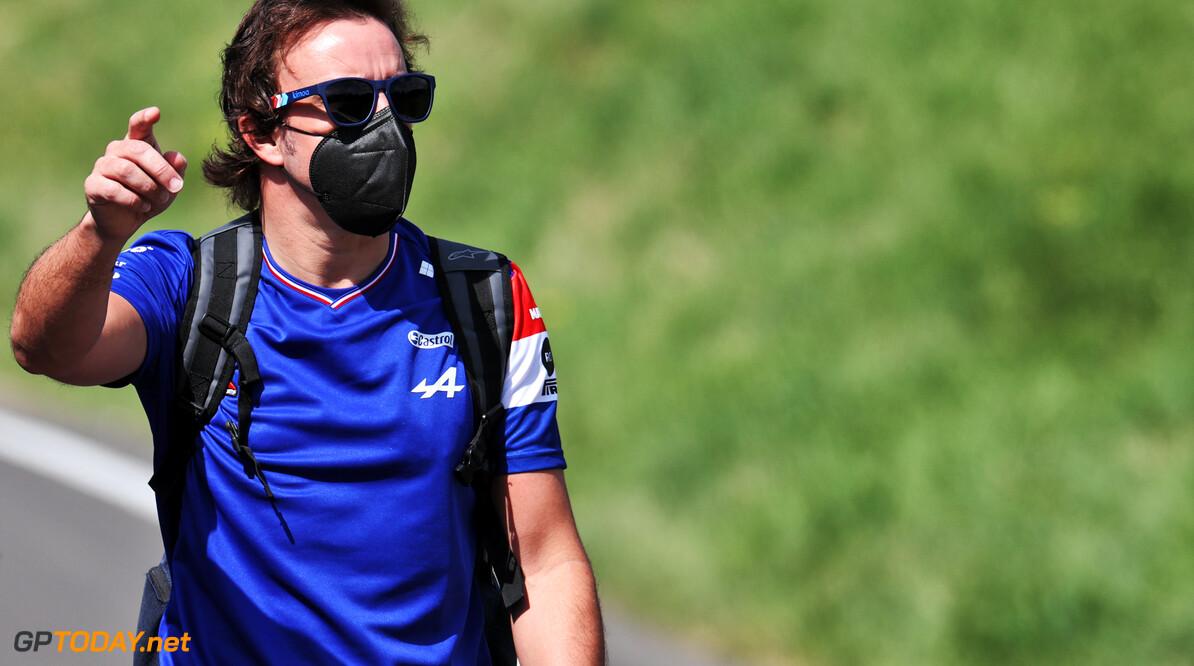 Fernando Alonso rijdt liever in de Alpine dan in een Red Bull of Mercedes