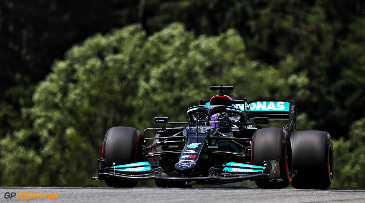 <b> Samenvatting F1 GP Stiermarken VT3: </b>  Hamilton 2 tienden sneller en hindert Verstappen tijdens snelle ronde in Oostenrijk