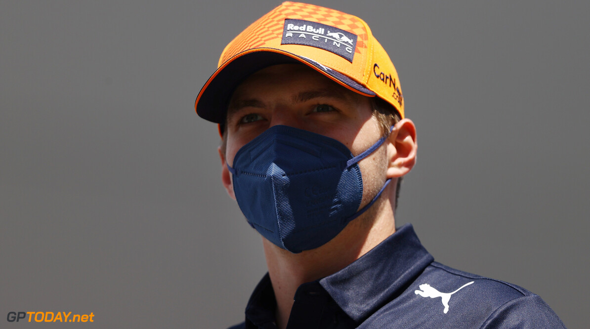 SPIELBERG, AUSTRIA - JUNE 27: Max Verstappen of Netherlands and Red Bull Racing looks on from the drivers parade ahead of the F1 Grand Prix of Styria at Red Bull Ring on June 27, 2021 in Spielberg, Austria. (Photo by Bryn Lennon/Getty Images) // Getty Images / Red Bull Content Pool  // SI202106270165 // Usage for editorial use only //  F1 Grand Prix of Styria     SI202106270165
