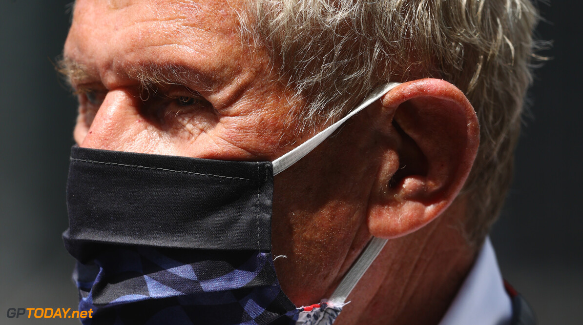 SPIELBERG, AUSTRIA - JUNE 27: Red Bull Racing Team Consultant Dr Helmut Marko looks on from the grid ahead of the F1 Grand Prix of Styria at Red Bull Ring on June 27, 2021 in Spielberg, Austria. (Photo by Bryn Lennon/Getty Images) // Getty Images / Red Bull Content Pool  // SI202106270181 // Usage for editorial use only //  F1 Grand Prix of Styria     SI202106270181