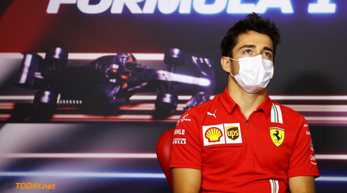 Charles Leclerc zoekt Sergio Perez direct op na Grand Prix van Oostenrijk