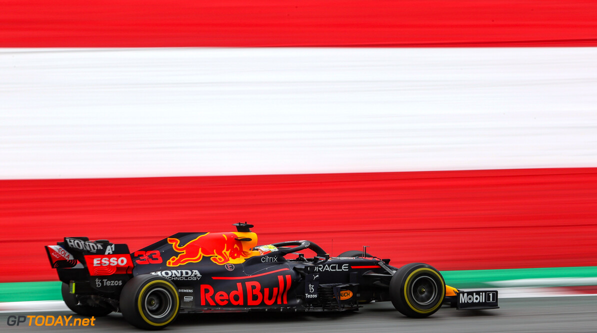 Formula One World Championship Max Verstappen (NLD), Red Bull Racing  02.07.2021. Formula 1 World Championship, Rd 9, Austrian Grand Prix, Spielberg, Austria, Practice Day. - www.xpbimages.com, EMail: requests@xpbimages.com (C) Copyright: Charniaux / XPB Images Motor Racing - Formula One World Championship - Austrian Grand Prix - Practice Day - Spielberg, Austria xpbimages.com Spielberg Austria  Formel1 Formel F1 Formula 1 Formula1 GP Grand Prix one Circuit Austria Austrian Spielberg Zeltweg Friday July 02 2 07 7 2021 Action Track