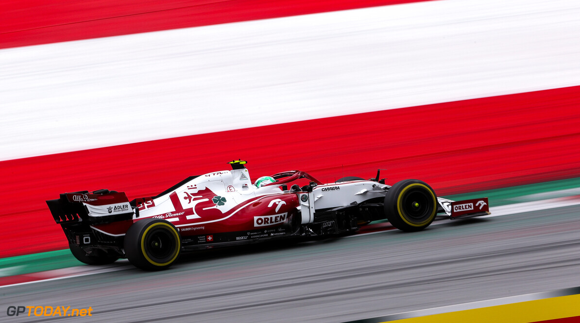 Formula One World Championship Antonio Giovinazzi (ITA), Alfa Romeo Racing  02.07.2021. Formula 1 World Championship, Rd 9, Austrian Grand Prix, Spielberg, Austria, Practice Day. - www.xpbimages.com, EMail: requests@xpbimages.com (C) Copyright: Charniaux / XPB Images Motor Racing - Formula One World Championship - Austrian Grand Prix - Practice Day - Spielberg, Austria xpbimages.com Spielberg Austria  Formel1 Formel F1 Formula 1 Formula1 GP Grand Prix one Circuit Austria Austrian Spielberg Zeltweg Friday July 02 2 07 7 2021 Action Track