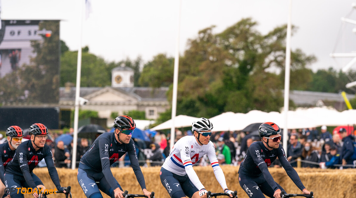 Goodwood Festival of Speed 2021      2021 cyclist Festival of Speed FoS FoS2021 hillclimb INEOS ineos grenedier moment Nick Dungan Saturday Highlights