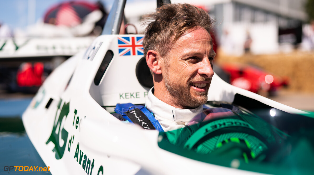 Goodwood Festival of Speed 2021      2021 Drivers, Riders, Celebs F1 Festival of Speed FoS FoS2021 Friday Highlights Jenson Button Nick Dungan Williams