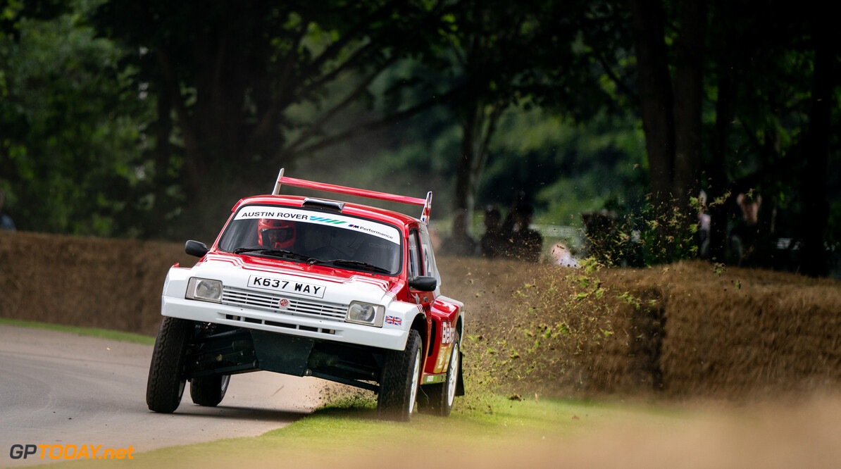 Goodwood Festival of Speed 2021      2021 Festival of Speed FoS FoS2021 Friday Highlights Metro 6R4 MG Nick Dungan rally car
