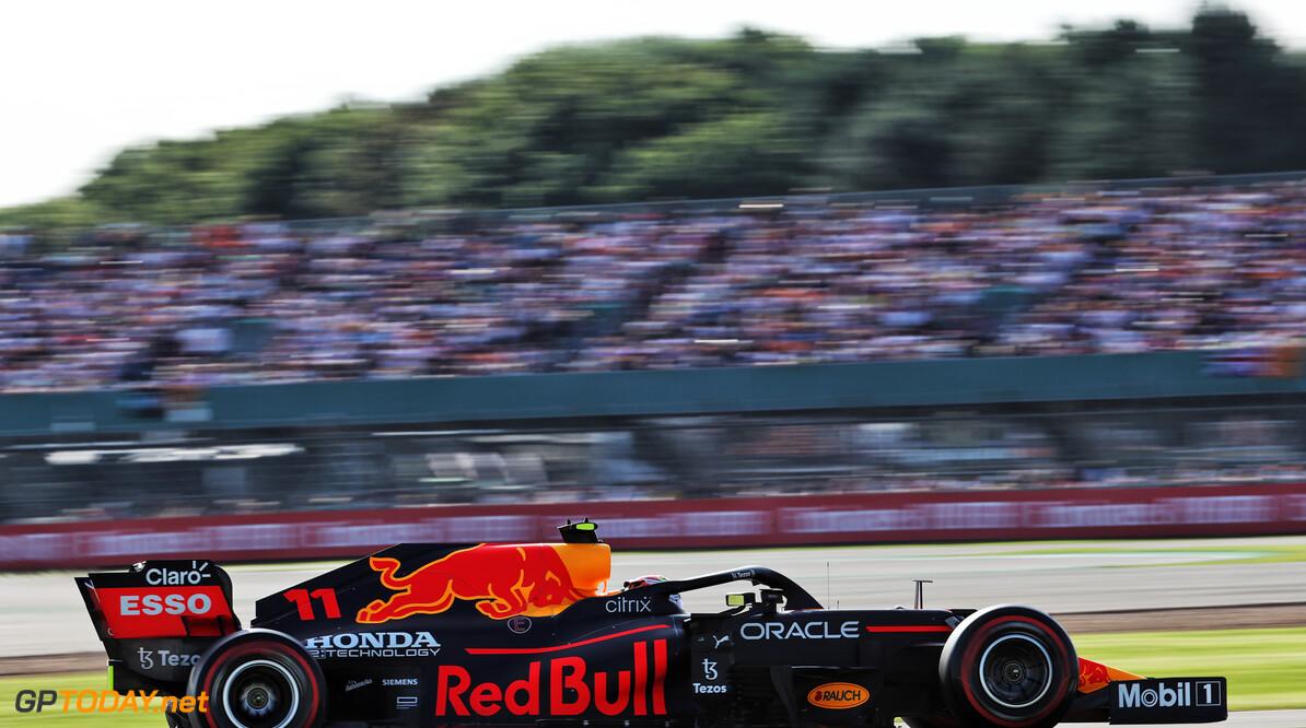 """Sergio Perez voelde het óók: """"Ineens gedroeg de auto zich anders"""""""