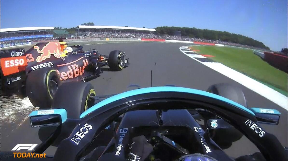 Kalff en Van de Grint oneens over schuld Hamilton aan crash Verstappen