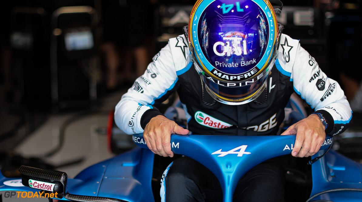 Fernando Alonso nog lang niet klaar met de Formule 1