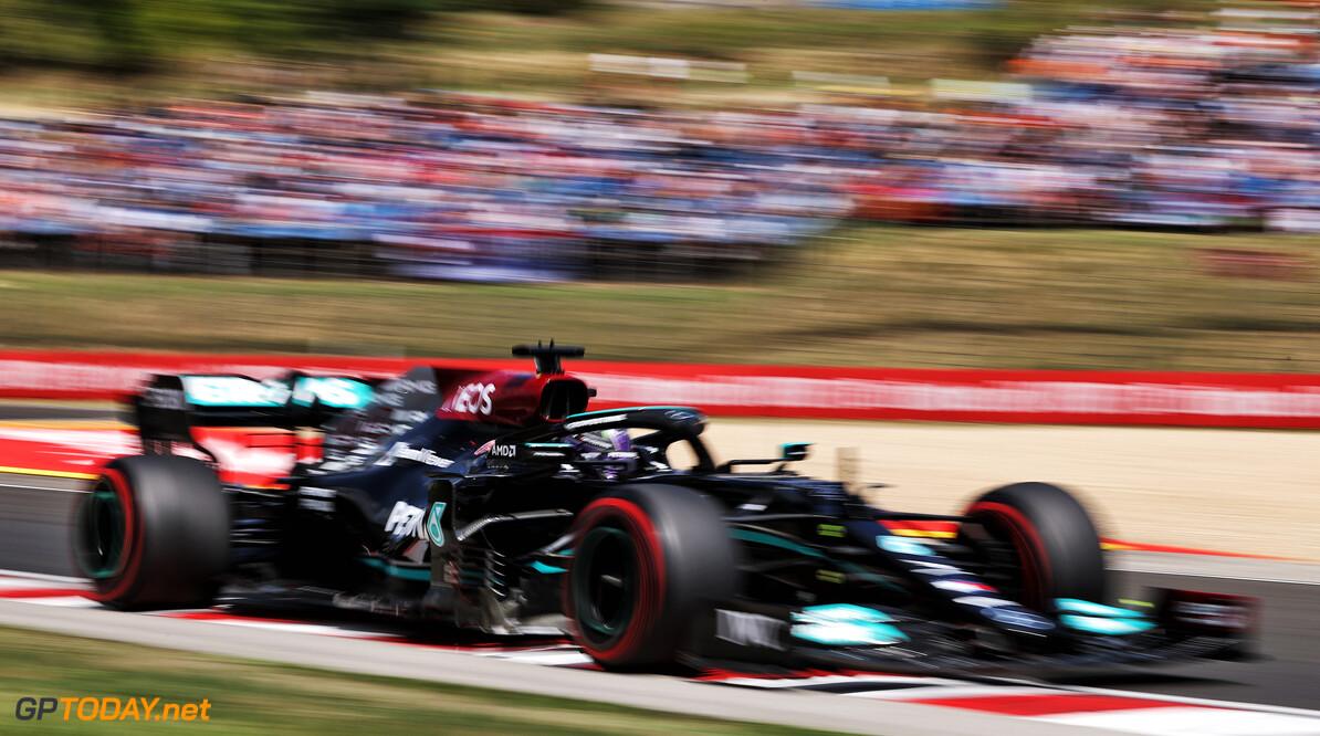 <strong> Samenvatting Kwalificatie F1 GP Hongarije: </strong>  Lewis Hamilton deelt flinke klap uit aan Verstappen