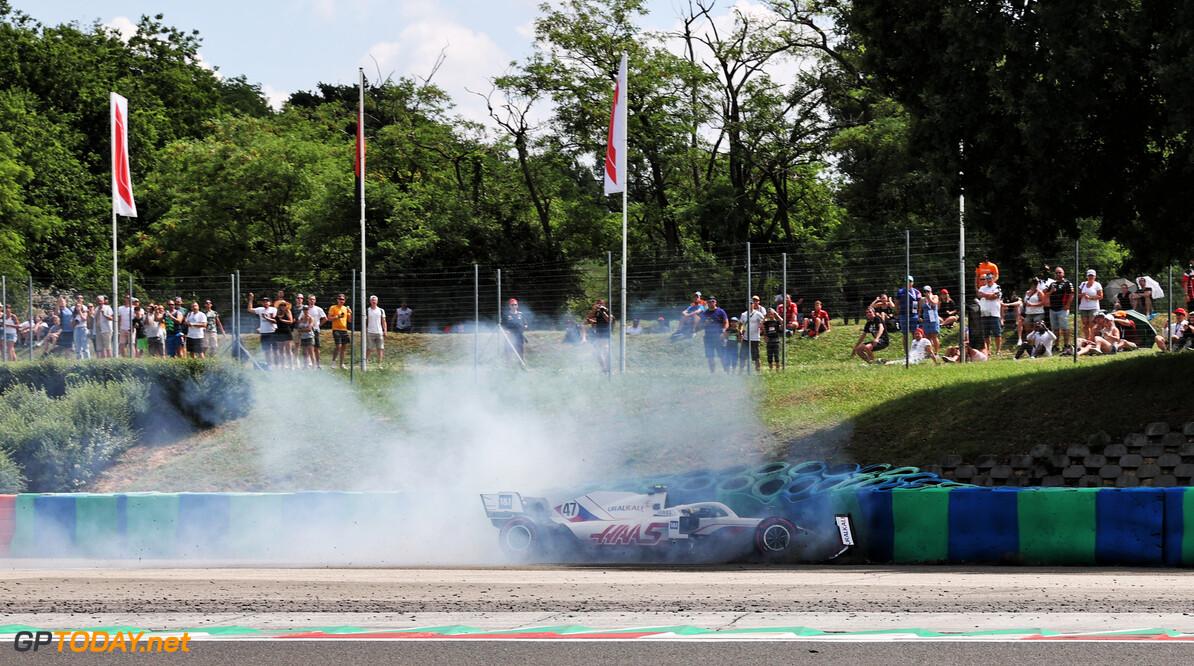Mick Schumacher krijgt uitbrander van Haas-teambaas Steiner
