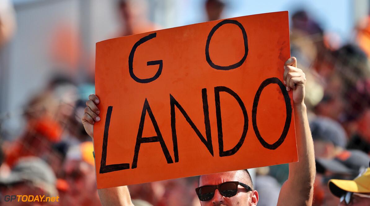 """Lando Norris: """"Seidl en Brown geven op juiste momenten steunen of juist schop onder de kont"""""""