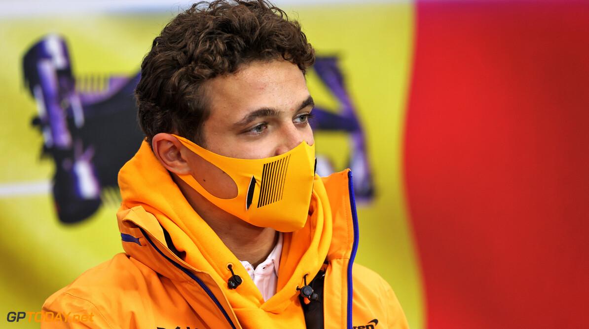 """Lando Norris nipt in de top-tien voor McLaren op vrijdag in Spa: """"Morgen presteer ik beter"""""""