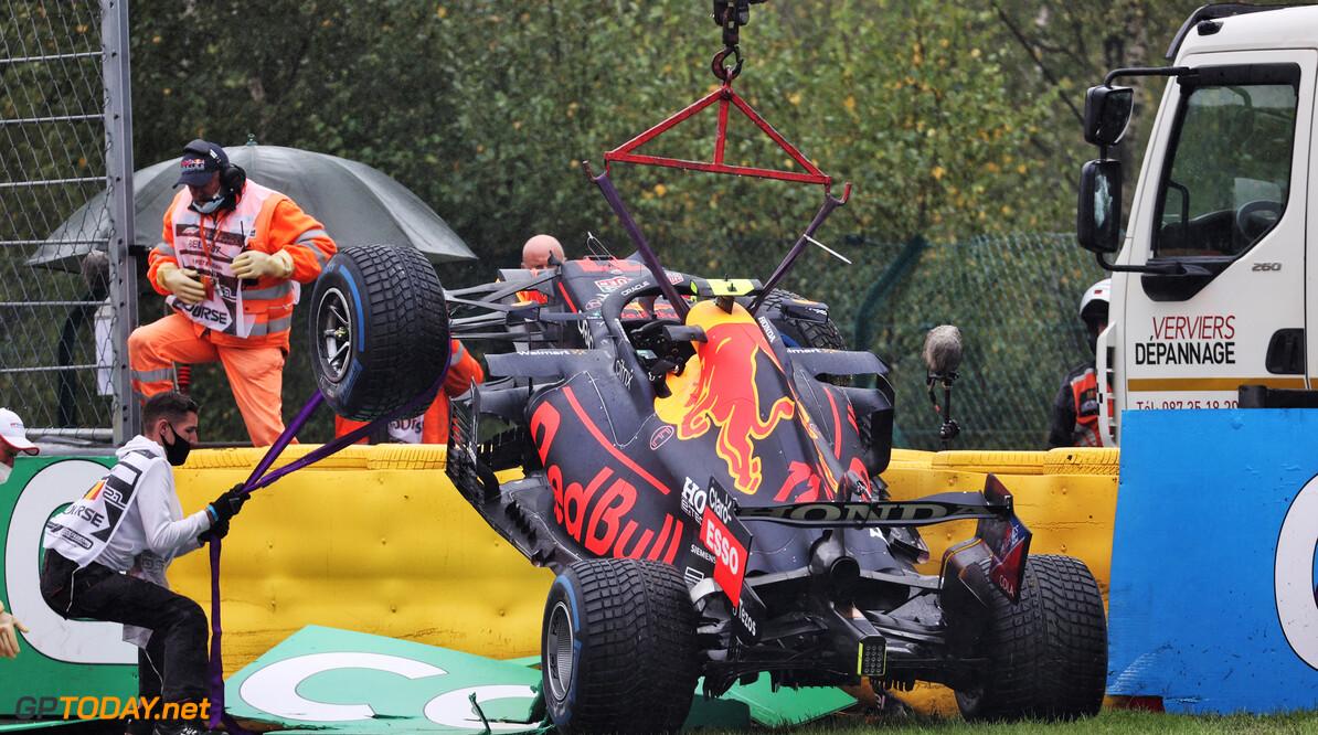 Sergio Perez mag starten in de Belgische Grand Prix