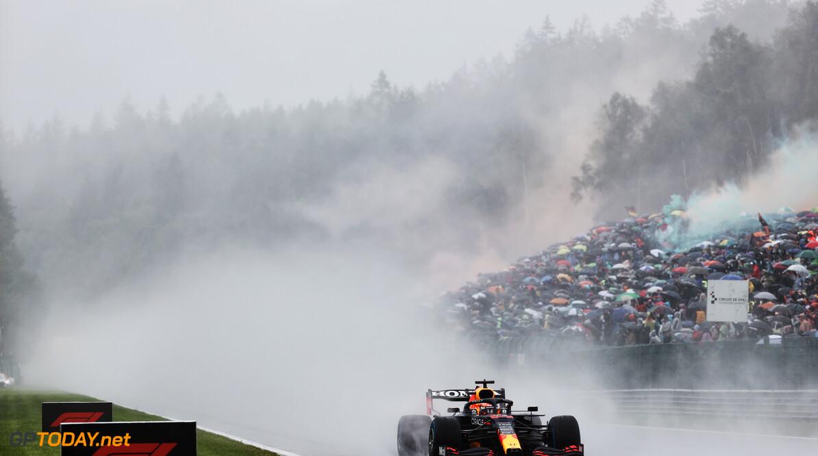 Code rood: race op Spa lijkt over met Max Verstappen als winnaar!
