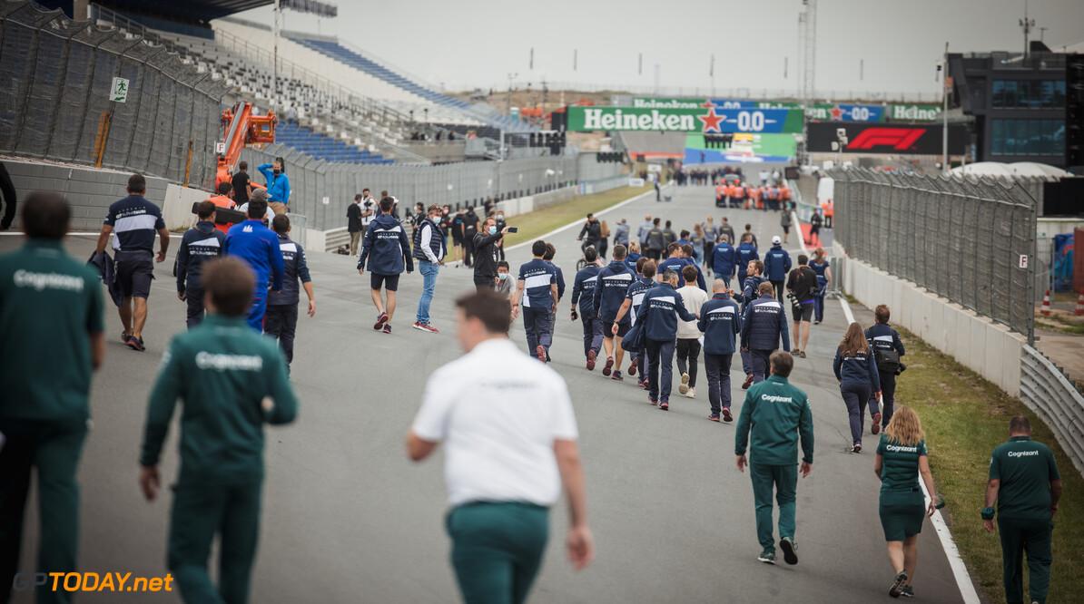 Ideaal raceweer tijdens F1 Dutch Grand Prix op Zandvoort
