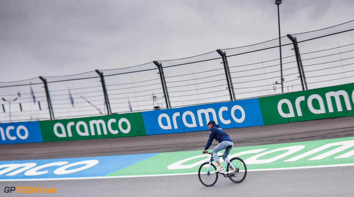 Geen track limits in Zandvoort