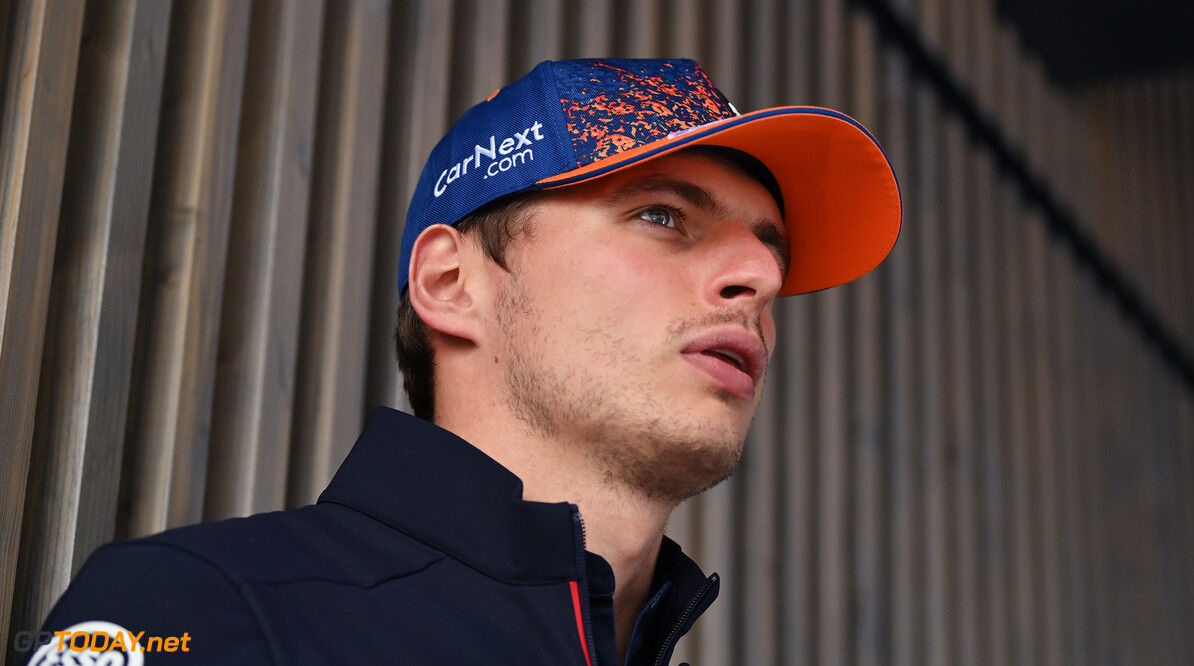ZANDVOORT, NETHERLANDS - SEPTEMBER 02: Max Verstappen of Netherlands and Red Bull Racing looks on in the Paddock during previews ahead of the F1 Grand Prix of The Netherlands at Circuit Zandvoort on September 02, 2021 in Zandvoort, Netherlands. (Photo by Dan Mullan/Getty Images) // Getty Images / Red Bull Content Pool  // SI202109020917 // Usage for editorial use only //  F1 Grand Prix of The Netherlands - Previews     SI202109020917