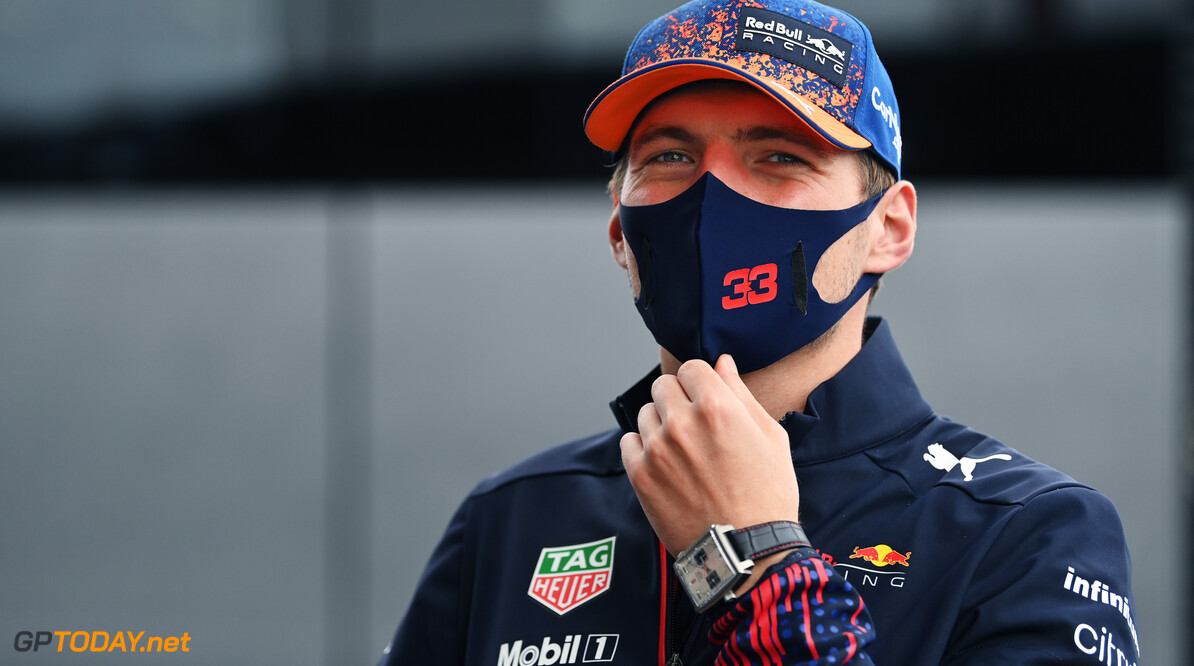 ZANDVOORT, NETHERLANDS - SEPTEMBER 02: Max Verstappen of Netherlands and Red Bull Racing looks on in the Paddock during previews ahead of the F1 Grand Prix of The Netherlands at Circuit Zandvoort on September 02, 2021 in Zandvoort, Netherlands. (Photo by Dan Mullan/Getty Images) // Getty Images / Red Bull Content Pool  // SI202109020886 // Usage for editorial use only //  F1 Grand Prix of The Netherlands - Previews     SI202109020886