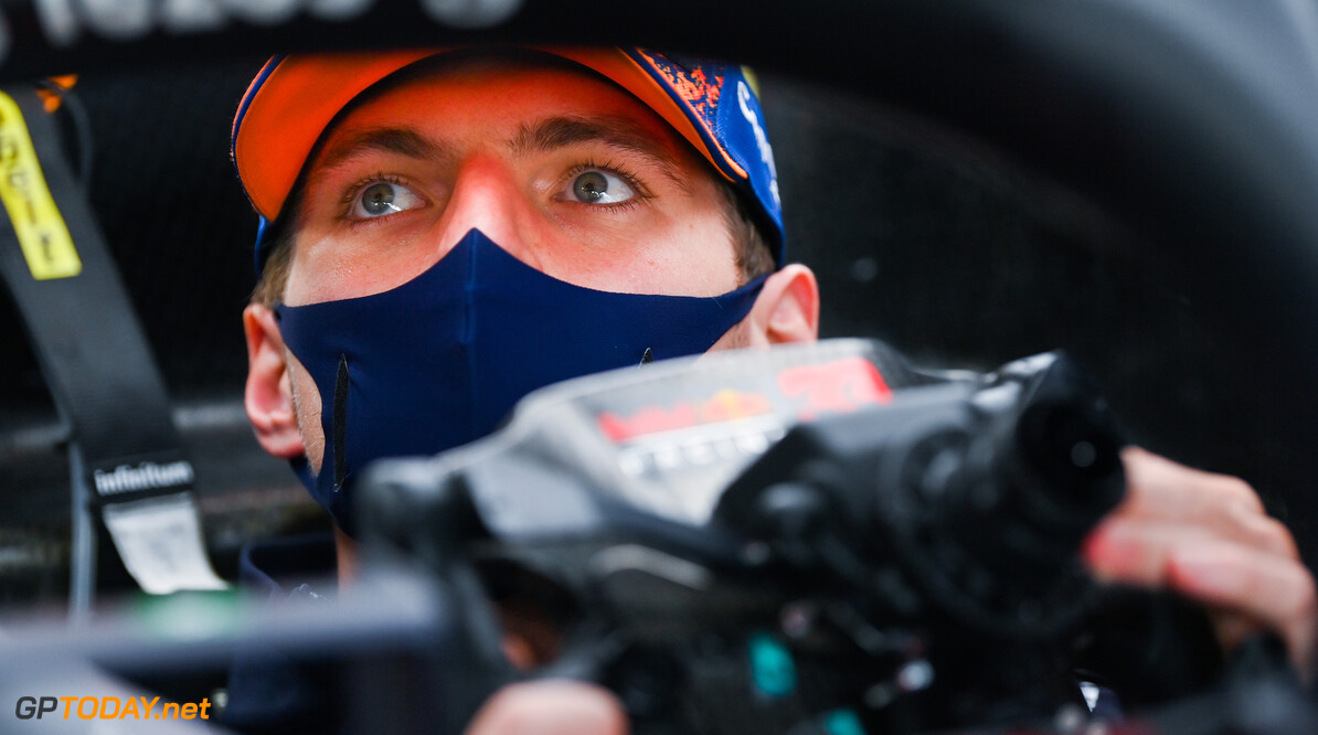 ZANDVOORT, NETHERLANDS - SEPTEMBER 02: Max Verstappen of Netherlands and Red Bull Racing has a seat fitting in the garage during previews ahead of the F1 Grand Prix of The Netherlands at Circuit Zandvoort on September 02, 2021 in Zandvoort, Netherlands. (Photo by Dan Mullan/Getty Images) // Getty Images / Red Bull Content Pool  // SI202109020885 // Usage for editorial use only //  F1 Grand Prix of The Netherlands - Previews     SI202109020885