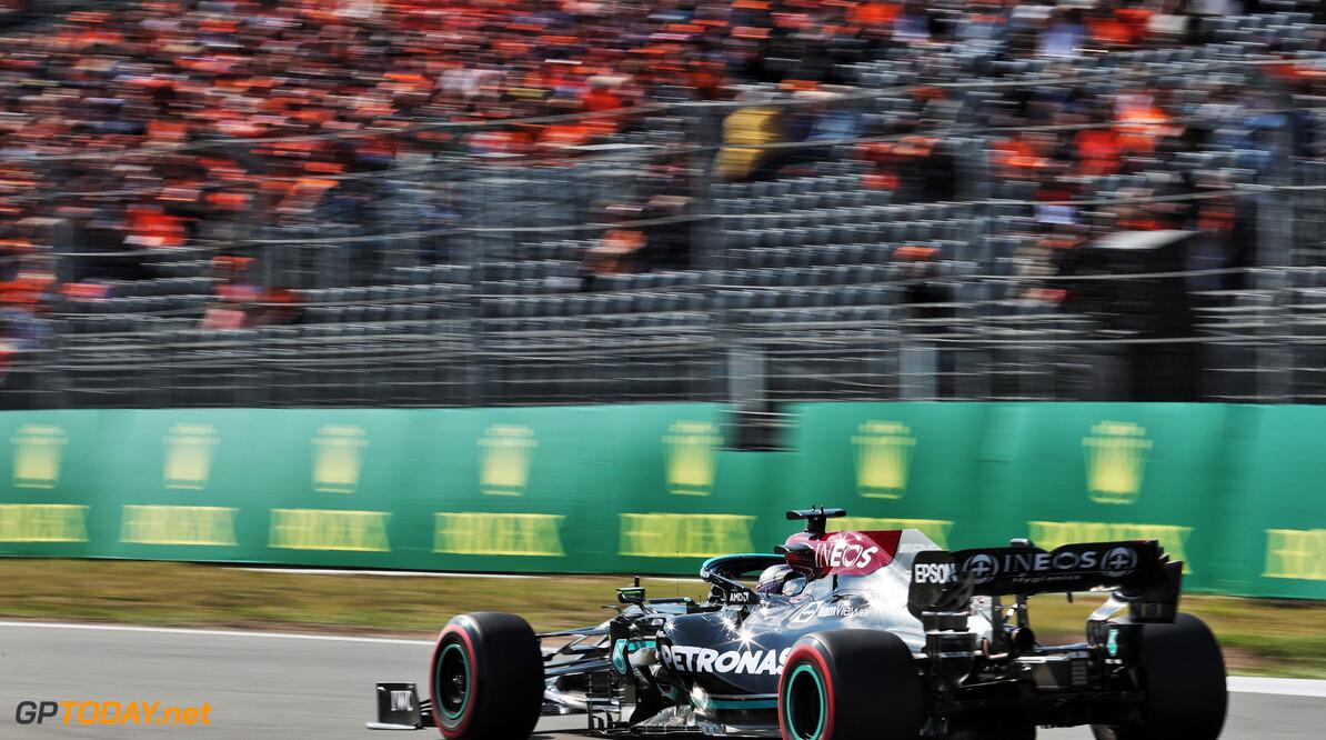 """Lewis Hamilton mist pole op 38 duizendsten: """"Dit was zó close"""""""
