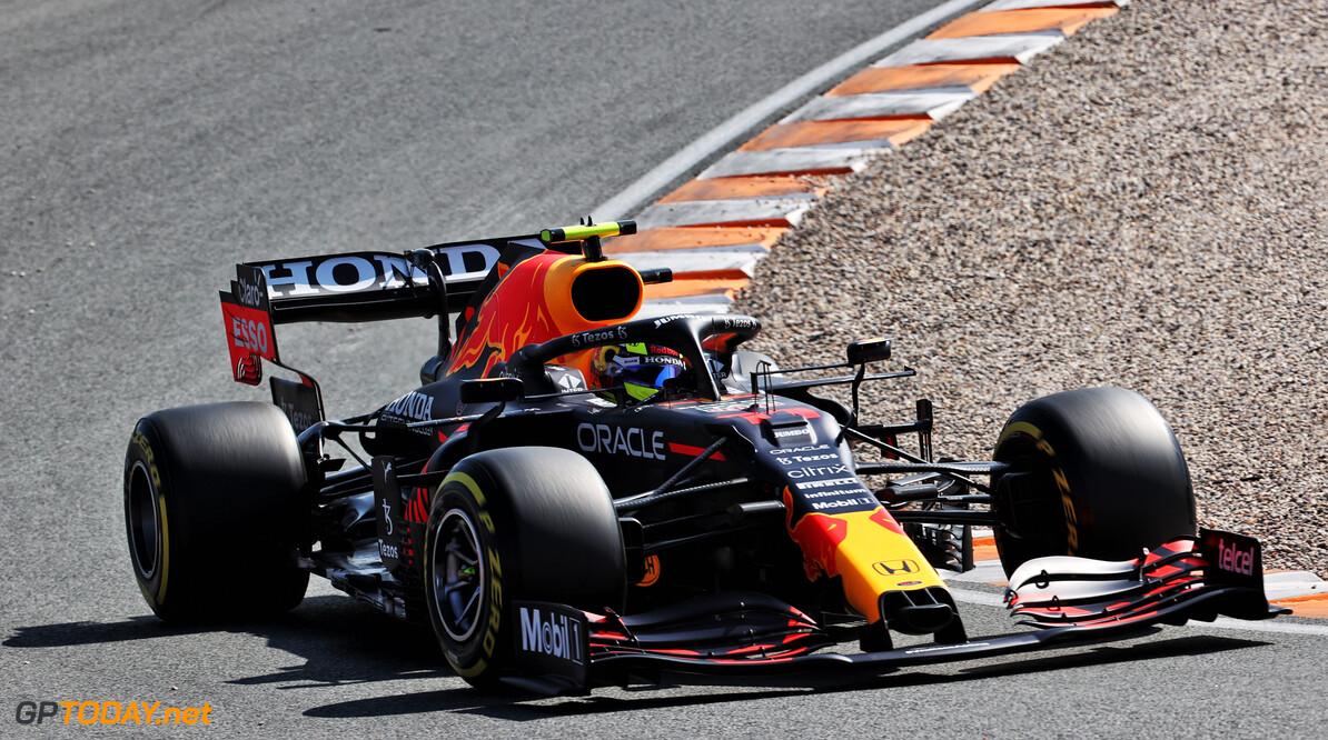 """Sergio Perez: """"Schade minimaal gehouden, laten we het zo zeggen"""""""