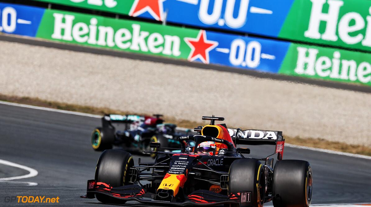 <b> Samenvatting VT1 Grand Prix van Italië: </b> Hamilton halve seconde sneller dan Verstappen en Bottas op Monza